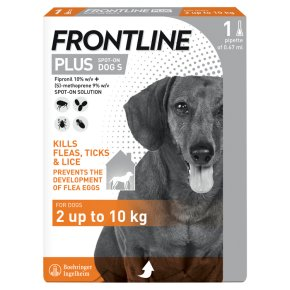 Frontline Plus Spot-On Dog Small 2kg-10kg