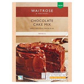 Waitrose Chocolate Cake Mix