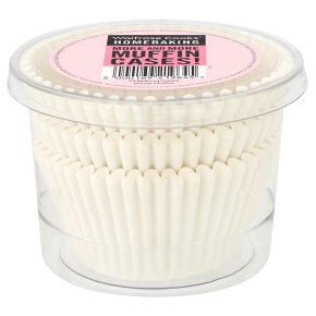 Cooks' Homebaking White Muffin Cases