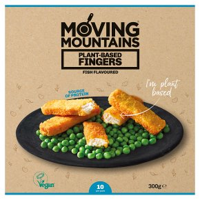 Moving Mountains 10 Plant-Based Fingers