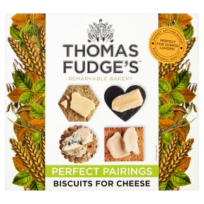 Thomas.J.Fudge's Many-Shaped Biscuits for Cheese