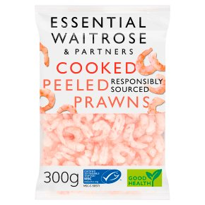 Essential Cooked and Peeled Prawns