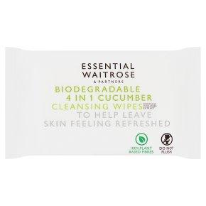 Essential 4in1 Cucumber Wipes