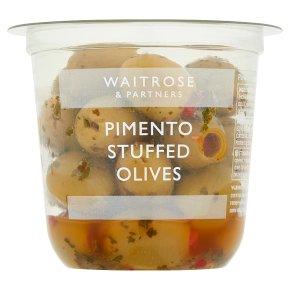 Waitrose Pimento Stuffed Olives