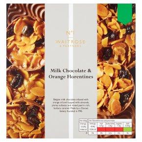 No.1 Milk Chocolate & Orange Florentines