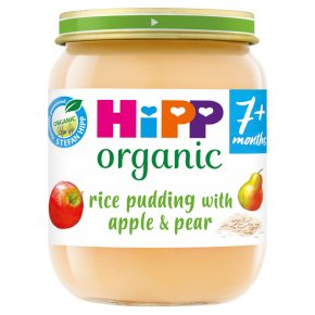 HiPP Rice Pudding with Apple & Pear