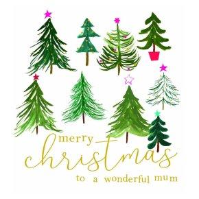 Merry Christmas Wonderful Mum Trees