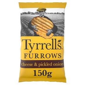 Tyrrells Furrows Cheese & Onion