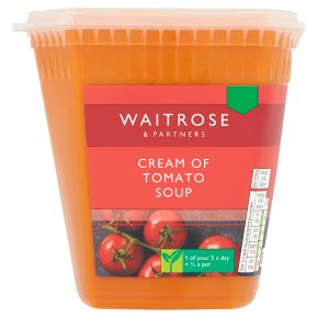Waitrose Cream of Tomato Soup