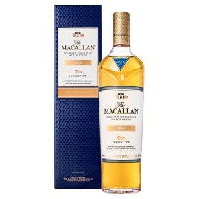 The Macallan Double Cask Gold Single Malt Whisky Speyside, Scotland