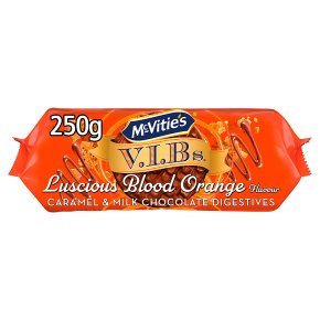 McVities V.I.Bs Luscious Blood Orange