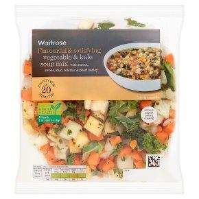 Waitrose Root Vegetable & Kale Soup Mix