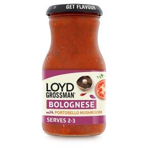 LoydG Bolognese w Mushroom Sauce
