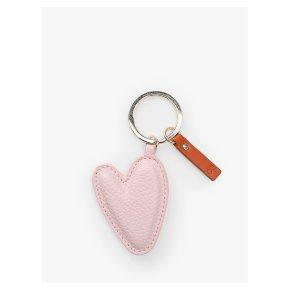 Caroline Gardner Pink Heart Keyring