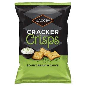Jacobs Sour Cream & Chive Cracker Crisps