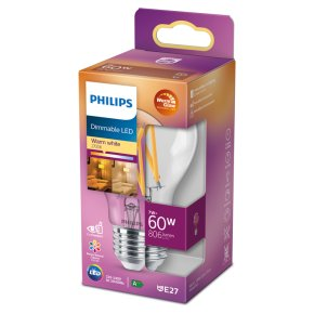 Philips Dimmable White LED E27 7w