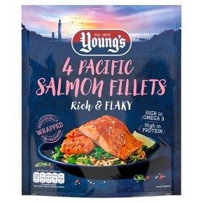 Young's 4 Pacific Salmon Fillets