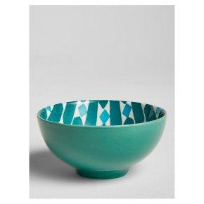 John Lewis Levantine Bowl Green 15cm