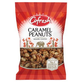 Cofresh caramel peanuts seasame coated
