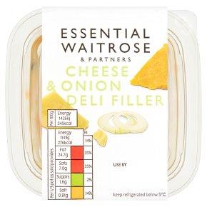 Essential Cheese & Onion Deli Filler