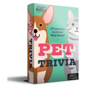 Professor Puzzle Mini Pet Trivia