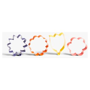 Waitrose Spring Cookie Cutters