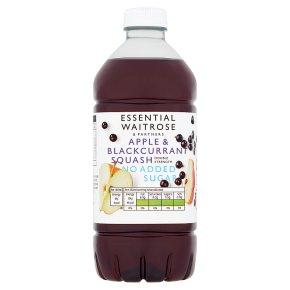 Essential Apple & Blackcurrant Squash No Added Sugar