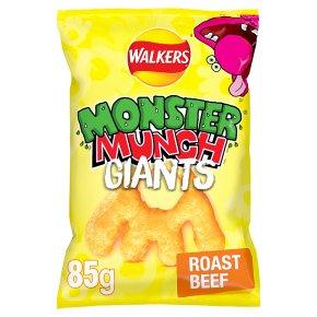 Monster Munch Giants Roast Beef