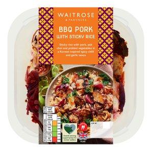 Waitrose BBQ Pork with Sticky Rice