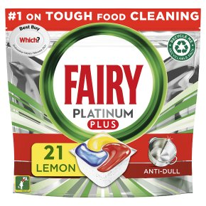 Fairy Plantinum Plus Lemon All in One Capsules 21s