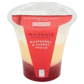 Waitrose Raspberry & Sherry Trifle