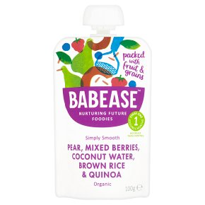 Babease Pear, Mixed Berries & Quinoa