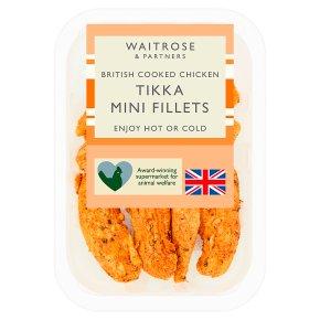 Waitrose British Chicken Mini Fillets Tikka Marinade