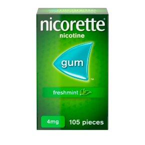 Nicorette Freshmint 4mg Nicotine Gum