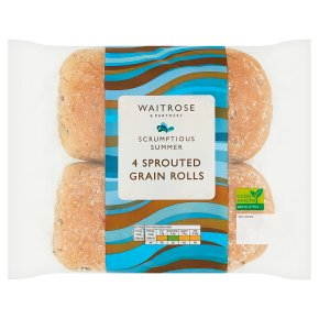 Waitrose Sprouted Grain Rolls