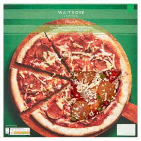 Waitrose Vegan Spicy Meatless Feast Pizza