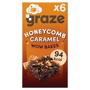 Graze Wow Bakes Honeycomb Caramel