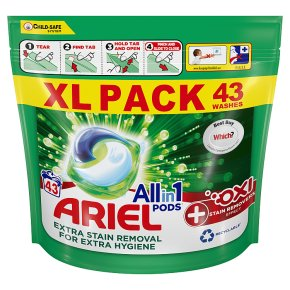 Ariel Oxi+ All in 1 Pods 50 washes