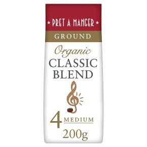 Pret A Manger Organic Classic Blend Ground Coffee
