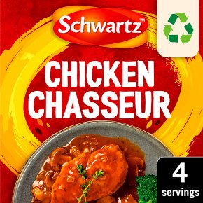 Schwartz Recipe Mix Chicken Chasseur