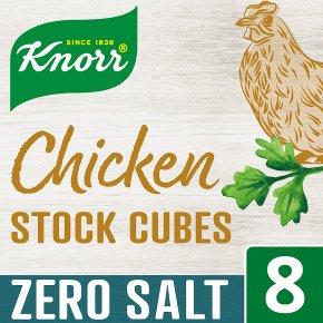 Knorr Zero Salt Chicken 8 Stock Cubes