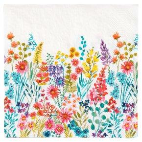 John Lewis Meadow Floral Napkins 33cm