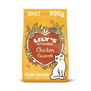Lily's Kitchen Adult Cat Chicken Casserole Dry Food
