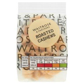 Waitrose LoveLife Roasted Cashews
