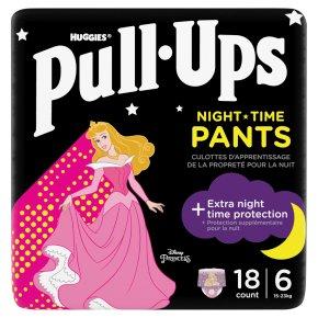 Huggies Pull-Ups Trainers Night Girl