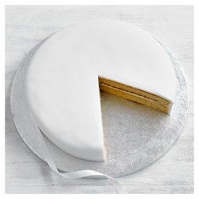 Undecorated Golden Sponge Cake