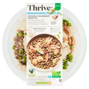 Waitrose Thrive Chicken & Mushroom Nozotto
