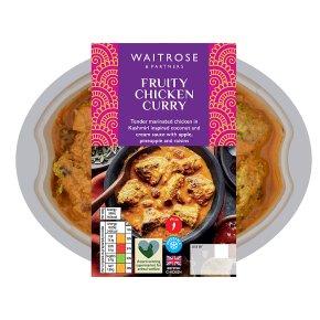 Waitrose Fruity Chicken Curry