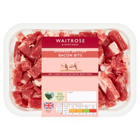 Waitrose Smoked British Bacon Bits