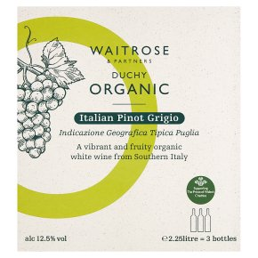 Duchy Organic Pinot Grigio Bag in Box